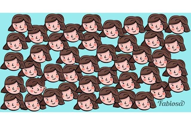 Աղջիկների շարքում թաքնված է տղա. կարո՞ղ եք գտնել նրան